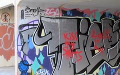 Legal & illegal graffiti practice walls (spelio) Tags: gungahlin australia act canberra 2016 australiancapitalterritory fave