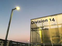 Division 14 (jawsnap.photo) Tags: light sign streetlight expo dusk 14 maintenance operations division facility project365 jawsnap wwwjawsnapnet