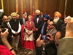 Meet Ontario Premier Ms. Kathleen Wynne - Bikram Singh Majithia (BikramSMajithia) Tags: ontario peace agriculture punjab premier meet sikhism renewableenergy solarenergy akalidal kathleenwynne bikramsinghmajithia
