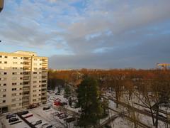 00722882 Sunrise (golli43) Tags: schnee sunset sun streets rain sunrise mond heaven himmel wolken neighbours sonne katzen nachbarn homesweethome regen januar spaziergnge spaziergang streetlive segelflieger