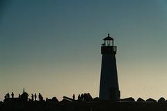 Santa Cruz (Gordon-Shukwit) Tags: california winter sunset people santacruz lighthouse beach landscape sonya7rii sonya7rm2