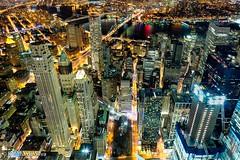 New York (dkolitha) Tags: new york bridge light sky usa black beautiful brooklyn night america dark lights one 911 trails observatory wtc tall manhatten height 2016 workd