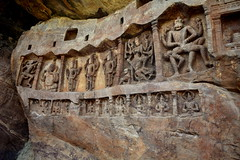 Carvings on Stone, Badami (Shyam Vallabh) Tags: stone carvings badami templeart