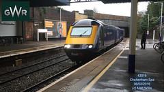 GREAT WESTERN RAILWAY 43016 0859 SWINDON AT CHELTENHAM SPA 06022016 (MATT WILLIS VIDEO PRODUCTIONS) Tags: great swindon railway western spa cheltenham at 43016 0859 06022016