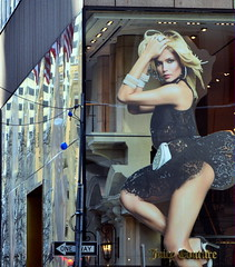 Sexy Advertisement At Juice Couture Store Fifth Avenue NYC (nrhodesphotos(the_eye_of_the_moment)) Tags: nyc winter signs sexy men glass metal architecture reflections season advertising model women paradise shadows arms legs display pavement manhattan lingerie lanterns poles fifthavenue storewindow shoppers lightfixtures femal retailer undergarments womenswear womenclothing dsc2610 juicecouture wwwflickrcomphotostheeyeofthemoment theeyeofthemoment21gmailcom sconsces