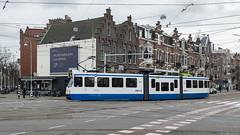 Fatale planning (Tim Boric) Tags: amsterdam museumplein tram streetcar tramway boog strassenbahn gvb vanbaerlestraat 12g lijn24