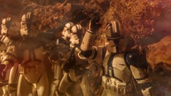"""Hold... Hold... Get ready..."" (carlos.sisi) Tags: starwars hasbro clonewars 501 clonetroopers"