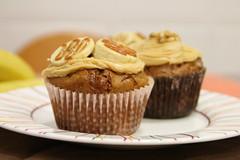 Cupcakes de Banana (Recetas de Pasteles) Tags: food dessert baking banana cocina cupcake muffin dulce dulcedeleche pltano banoffee receta repostera muffindebanana banoffeecupcake cupcakedebanana recetacupcake muffindepltano recetamuffin