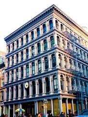 Cast Iron District (Ed Newman) Tags: newyorkcity newyork architecture soho facades gothamist castirondistrict newyorkarchitecture