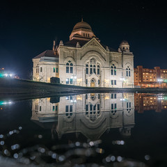 Non zrkadlenie (martinosperatus) Tags: panorama architecture night photography photos sony slovensko slovakia bestphoto schot lucenec nightfoto bestfoto sonya7 ilce7 sonyilce fe28mm2f