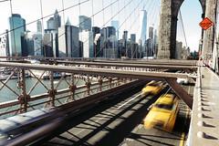 Brooklyn Bridge Rush (Alexander Tran   atranphoto.com) Tags: street new york city nyc newyorkcity bridge brooklyn cityscape fujifilm xt1 atran atranphoto atranfoto