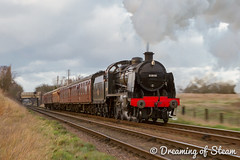GCR-WINTER-GALA-63 (Steven Reid - Reid Photographic) Tags: railroad heritage train vintage smoke engine railway steam locomotive uboat sr steamengine 260 mogul southernrailway steamlocomotive 2016 greatcentralrailway gcr wintergala 31806 heritagerailways uclass