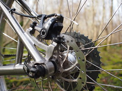 TRP Spyke (South Downs MTB Skills) Tags: exposure rusty 29 titanium revo travers gorillacage bikepacking alpkit tourdivide apidura freeparable