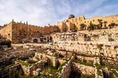 City of David (davecurry8) Tags: israel ruins jerusalem walls oldcity alaqsa cityofdavid