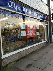 Brows Lane S 54 2016 02 01 The Olde Bookshop To Close At The End Of March 2016 Ref 03 (Tony Formby & Southport Past) Tags: book bookshop merseyside formby browslane oldebookshop