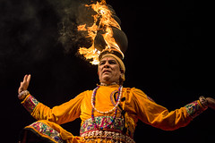 Fiery Balance   Rajasthani Folk Artist (vjisin) Tags: india black art fire dance asia artist bright background chennai fiery incredibleindia eventphotography indianheritage rajasthanifolk mychennai indiandancefestival2016