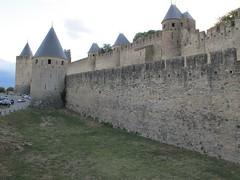 2010 09 08 Francia - Linguadoca Rossiglione - Carcassonne_0789 (Kapo Konga) Tags: mura francia carcassonne ferie languedocroussillon citta cittamedievale