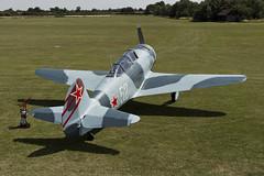 Let C-11 (Yak-11) - 6 (NickJ 1972) Tags: wings aviation wheels collection airshow shuttleworth let 52 c11 2015 yakovlev yak11 oldwarden gbtze