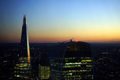 The-Shard-at-Sunset-7838 (Lex Photographic) Tags: london shard gherkin the searcys theshard