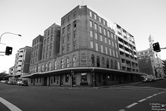 0D6A5945 - The Great Northern Hotel (Stephen Baldwin Photography) Tags: city urban blackandwhite monochrome architecture newcastle australia nsw streetscape