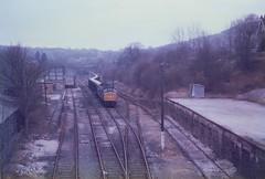 Wirksworth Yard (ee20213) Tags: freighttrain wirksworth d113 class45 45128 freightonly wirsworthyard