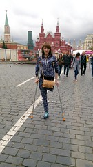 Liliya_KeLZ1gK10TI (cb_777a) Tags: war ukraine disabled crutches handicapped amputee onelegged