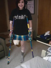 ME_132818035741 (cb_777a) Tags: usa cancer disabled crutches survivor handicapped amputee onelegged
