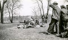 Machine-gun practice-Ft. Snelling Mid1930s (Old Guard Museum) Tags: old guard practice machinegun fortsnelling m1917 3rdinfantryregimentthe