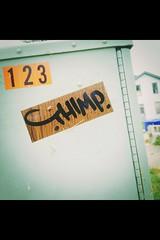 Sticker art 2016 (mcknightpercy) Tags: street wood urban art graffiti wooden sticker artist box kentucky tag graf stickers hamilton style 123 tags spell artists marker louisville contact write graffito usps draw 20 graff calligraphy adhesive 228 2016 handstyle 2015 contac thimp