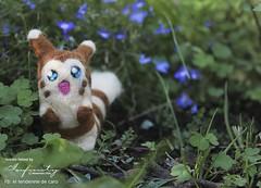 Furret (InfinitySadness) Tags: cute garden felting handmade felt kawaii pokemon handcrafted needlefelting crafting fieltro fieltrodeaguja