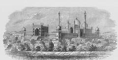 Great Mosque, Delhi -  Ancient Travels c1880 (AndyBrii) Tags: ancient travels 1880 restorations