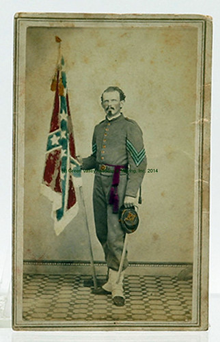Carte de Visite of Sgt. William Crawford Smith 12th Virginia Infantry $3,960.00 - 4/11/14