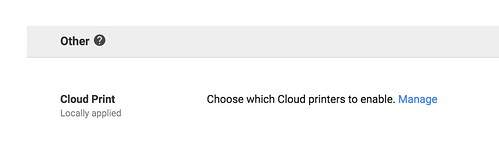 Manage Google Cloud Printers in GAFE Adm by Wesley Fryer, on Flickr