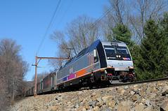 NJTR 4513 @ Mount Tabor, NJ (Adrian Corus) Tags: njtransit mounttabor njt 4513 6920 morristownline taborlake njtr alp45