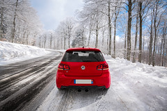 VW Golf 6 R Tornado (Alexis.oliva) Tags: road winter light red sky sun 3 snow black tree cars car vw digital canon golf volkswagen landscape fun rouge eos soleil is photo cool noir lumière south hiver stock automotive racing route ciel r verglas 5d neige 40 usm 20 70300mm paysage tornado arbre mont numérique efs ef forêt sud tsi 6r mkiii mark3 markiii catback dsg 1635mm glisse mkvi rline mk6 milltek golf6 76mm haldex aigoual tallageda golfr mk6r