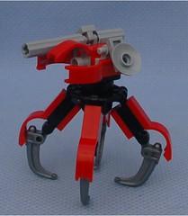 ANQ 2 (Mantis.King) Tags: lego walker scifi futuristic mecha wargames mech moc multiped microscale tripletchallenge legomecha mechaton mfz mf0 mobileframezero legogaming