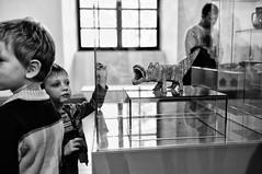 In a collision with reality (kirilko) Tags: bw art 35mm children fuji ukraine finepix kiev kyiv fujifinepix mariaprymachenko fujix100 fujifinepixx100 mystetskyiarsenal