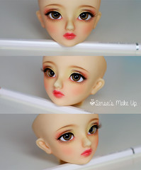 Commissions (Rakeru Space) Tags: make up doll f30 bjd resin volks sensei rakeru senseis