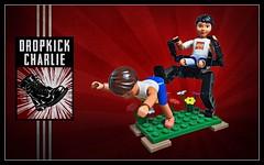 Dropkick Charlie (D-Town Cracka) Tags: chair lego legs leg hard suit charlie walker minh mech amputee hardsuit belville