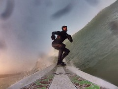 20160313 GoPro surf selfie 1 (MikeySee) Tags: sea france beach mike dawn brittany surf surfer wave bretagne surfing surfboard longboard billabong plage wetsuit curd bic selfy selfie mikeysee kersigunou mikecurdphotography mikecurd
