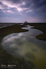 les zigouigouis (Fabi Bescou) Tags: water clouds landscape ciel normandie nuages montsaintmichel prssals canaux
