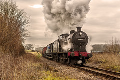WSR_2016_03_11_019 (Phil_the_photter) Tags: watersmeet minehead leighwoods wsr 7f westsomersetrailway 8f 53808 53809 34098 standardtank templecombe 48624 80043 80072 roebuckcrossing