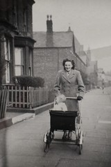 Fountains Road, Liverpool (Towner Images) Tags: liverpool merseyside kirkdale towner townerimages baby pram perambulator mother walk buggy fountainsroad chancelstreet church stjohns street urban house terrace property restmor epstein northdingle