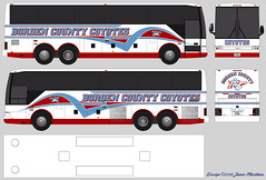Borden County Coyotes Van Hool T2140 Bus Design (sj3mark) Tags: vanhool coyotes activitybus t2140 busdesign bordencounty