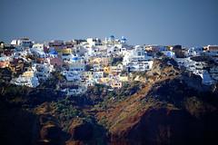 Santorini view from the Ship in Greece (` Toshio ') Tags: greek europe european aegean santorini greece caldera europeanunion thira thera toshio greekisland aegeansea xe2 fujixe2