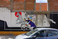 Celso GONZALEZ (BE'N 59) Tags: en streetart blanco sanmigueldeallende mexique muros