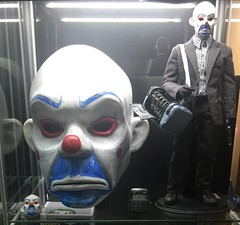(Dean Hartmann) Tags: dark mask bank heath joker knight props prop robber tdk ledger