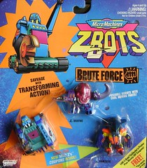 Z-Bots Series 4 Set 18 (Z-Bots collector) Tags: toys robot space micro radical machines void transform bruteforce voids zbot galoob zbots brayne savvage ramtusk morphbots