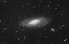 Messier 106 (iksose7) Tags: sky nature stars space astro galaxy nebula astrophotography astronomy galaxies messier ccd luminance milkyway altair m106 atik nightskyphotography neq6 383l 115edt