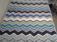 Lesley Schell (The Crochet Crowd) Tags: game stitch right blanket afghan throw crochetblanket thecrochetcrowd stitchisright
